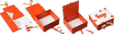 custom made foldable boxes